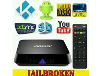 M8 and M8s ANDROID TV BOX. HD