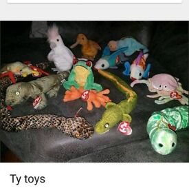 TY toys .. Large bundle as per photos
