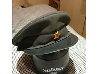 Albanian Military Officers Dress Caps. Cold War Militaria