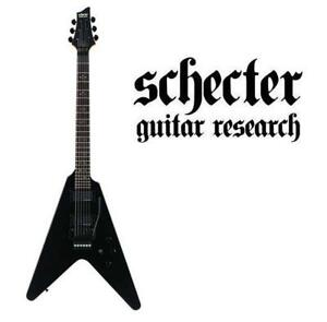 NEW SCHECTER ELECTRIC GUITAR 221454471 V-1 CUSTOM FR GUITAR RESEARCH