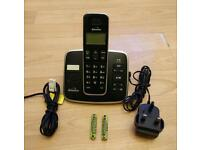 Cordless digital phone with answer machine