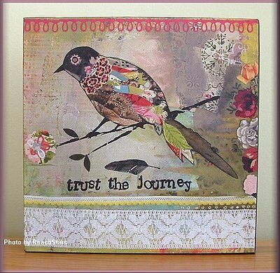 TRUST THE JOURNEY WALL ART BY KELLY RAE ROBERTS FREE U.S. SHIPPING