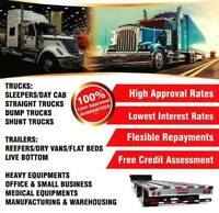 TRUCK LOAN, TRAILER LOAN, HEAVY EQUIPMENT LOAN BEST RATES