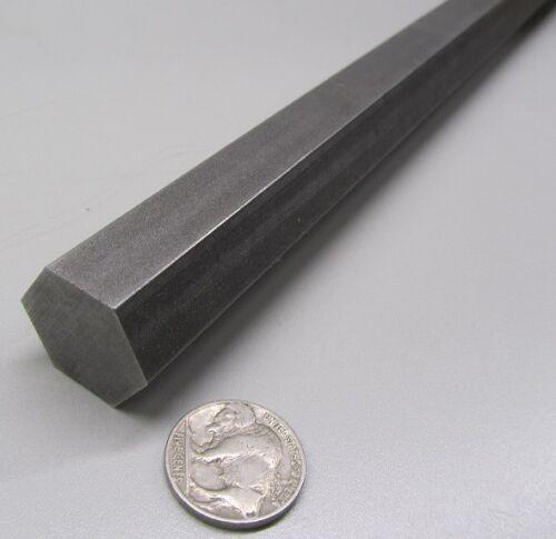 "1215 Carbon Steel Hex Rod 7/8"" Hex x 3 Foot Length"