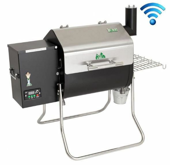 Green Mountain Grills GMG Davy Crockett WiFi Wood Pellet Barbecue Grill, DCWF