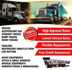 TRUCK LOAN, TRAILER LOAN, HEAVY EQUIPMENT LOAN ****BEST Rates