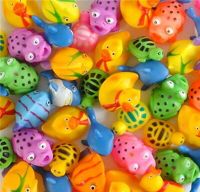 LOT OF 24 MINI SQUIRT TOYS BEACH POOL TOY PARTY GOODY BAG CARNIVAL LUAU PINATA - Carnival Pinata