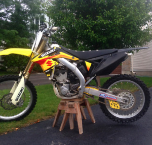 2011 Suzuki RM-Z 250 fuel injected open to trades for seadoo