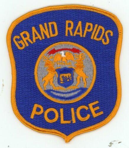 GRAND RAPIDS POLICE MICHIGAN MI NEW PATCH SHERIFF
