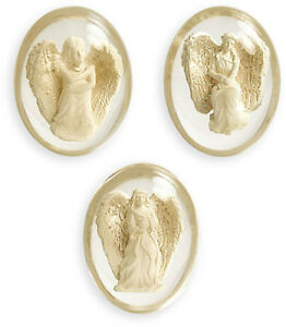 Brand New, Little Angel Light Worry Stone, No Worries