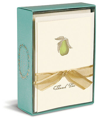 Perfect Pear 10 Boxed Thank You Cards By Graphique De France