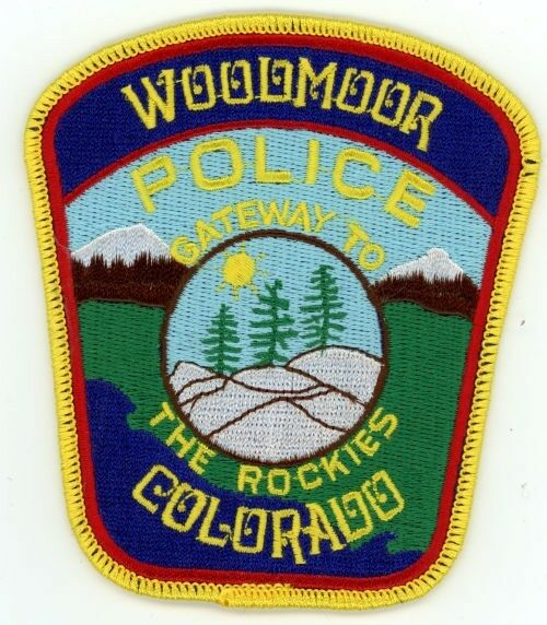 WOODMOOR COLORADO CO POLICE COLORFUL PATCH SHERIFF