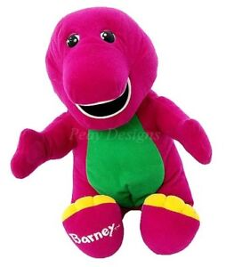 Barney singing doll baby bop doll and toys ( All use )