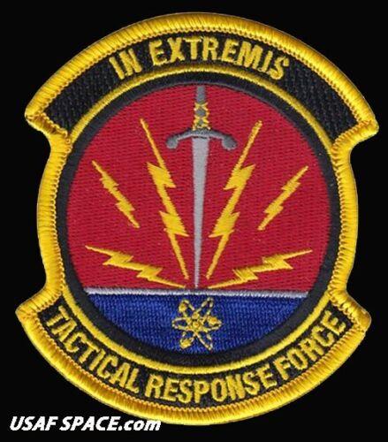 USAF TACTICAL RESPONSE FORCE -PENTAGON-DOD-MM-III- ORIGINAL AIR FORCE VEL PATCH