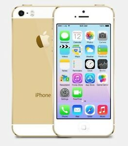 iPhone 5s white/gold 16 GB