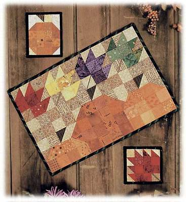 Windy Pumpkins Happy Hollow Designs Fall/Halloween Thanksgiving placemat pattern