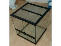 Exo Terro Vivarium Terrarium Glass Tank 45*45*45 Cube