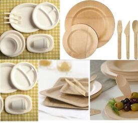 Disposable plastic plates London