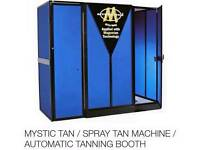 Automatic tanning booth