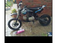 110 Welsh pit bike