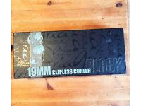 ARIA BLACK 19MM CLIPLESS CURLER