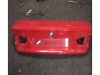 2014 BMW 3 Series rear tailgate with reverse camera