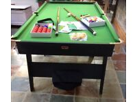 Super Christmas present - 6ft BCE Pool/Snooker Table