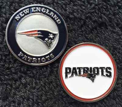 New Licensed NFL New England Patriots Golf Ball Marker  (England Golf Ball)
