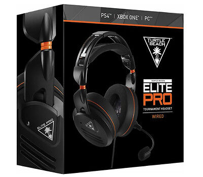Turtle Beach Elite Pro Tournament Wired Gaming Headset for PS4 Xbox One PC
