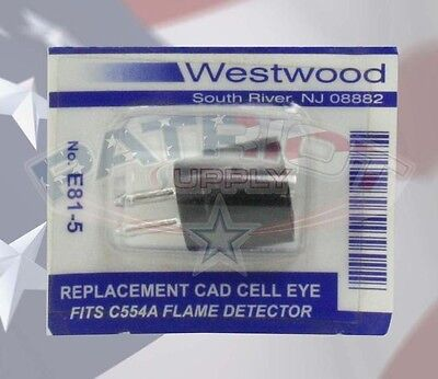 E81-5 Cad Cell Eye Only Fits C554a Flame Detector Clean Burn Energylogic Lanair
