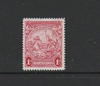 Barbados 1938/47 1d red P14 Fresh MM SG 249a