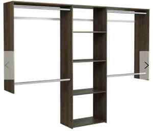 2 Wall-mount closet systems for sale