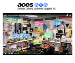 janitorial supplies and janitorial equipment *ACES