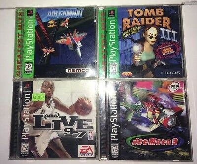 PlayStation Lot Of 4 Games