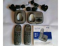 BT Freelance XD8500 Twin phones