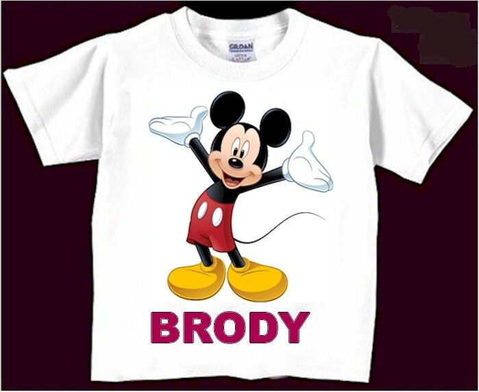 Mickey Mouse Shirt Personalized Disney Shirt Mickey Mouse Bi