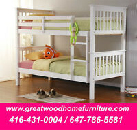 SOLID WOOD BUNK BEDS STARTING...$349