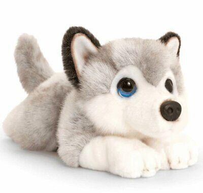 Keel Toys HUSKY DOG 32cm Soft Toy SIGNATURE PUPPY