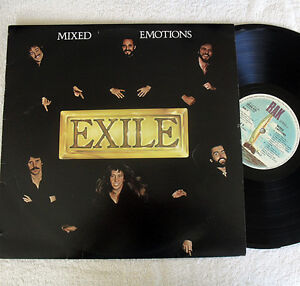Rock Vinyl 1978  Exile - Mixed Emotions - Kiss You All Over JG1 Eastern Creek Blacktown Area Preview