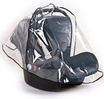 BABY CHILD UNIVERSAL CAR SEAT RAIN COVER 0/11kg Fits most car seats.