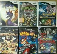Nintendo Wii and Gamecube Games