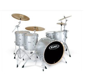 *** Mapex Pro M - Maple kit - Platinum sparkle 9 piece kit ***