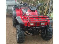 SOLD ..SOLD..Honda Big Red Quad with trailer