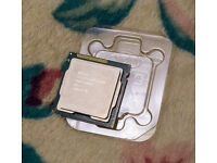 Intel i5-3570K - LGA1155 socket Processor with unused stock fan