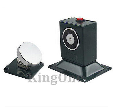 Floor and Wall Mount Electric Magnet Fire Door Holder 70kg Holding Force for sale  Shipping to Canada