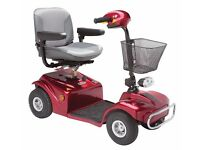 RASCAL 388 mobility scooter 20 mile range. hardly used can poss deliver
