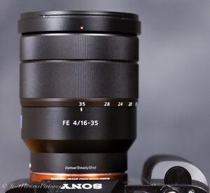 Sony Zeiss 16-35mm F4 FE lens