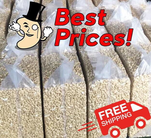 25LBS LARGE CASHEW PIECES BULK - Ebay Bestseller! MR. CASHEW BROKER - SHIPS FREE