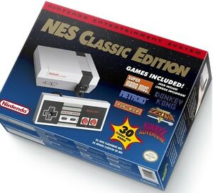Brand New Sealed DISCONTINUED Nintendo Classic Mini