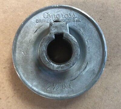 Powermatic 140 14 Bandsaw Motor Pulley 2-12 Diameter Band Saw Parts